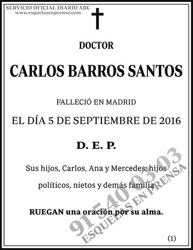 Carlos Barros Santos